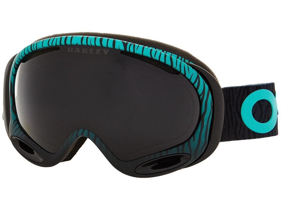 Oakley A Frame 2.0 Factory Pilot Bengal Mint/Dark Grey Snow Goggles