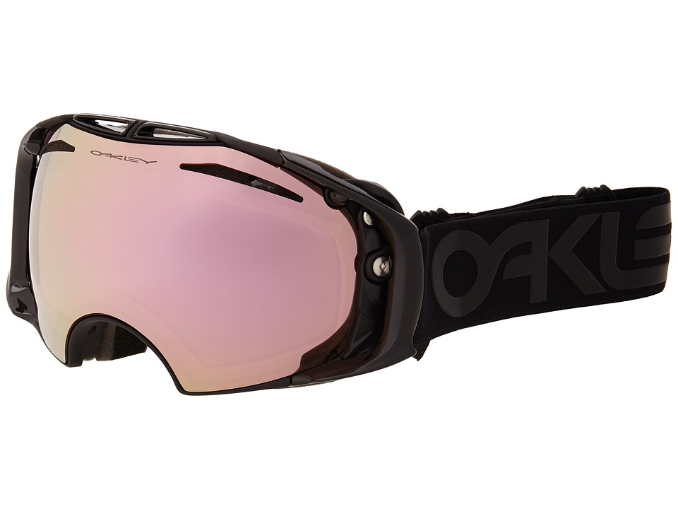 Oakley Airbrake Factory Pilot Blackout/VR50 Pink Iridium Snow Goggles