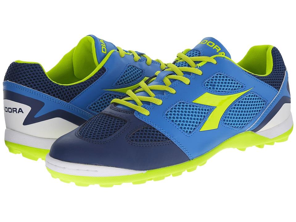 Diadora Quinto V TF Navy/Royal Mens Soccer Shoes