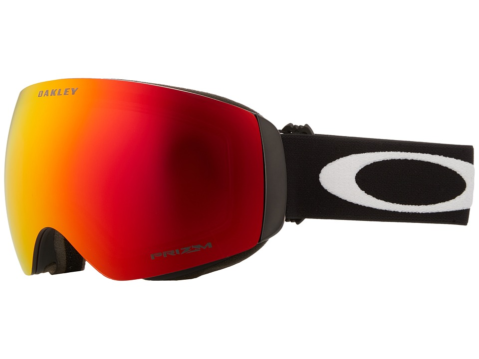 Oakley - Flight Deck XM (Matte Black/Prizm Torch Iridium) Sport Sunglasses