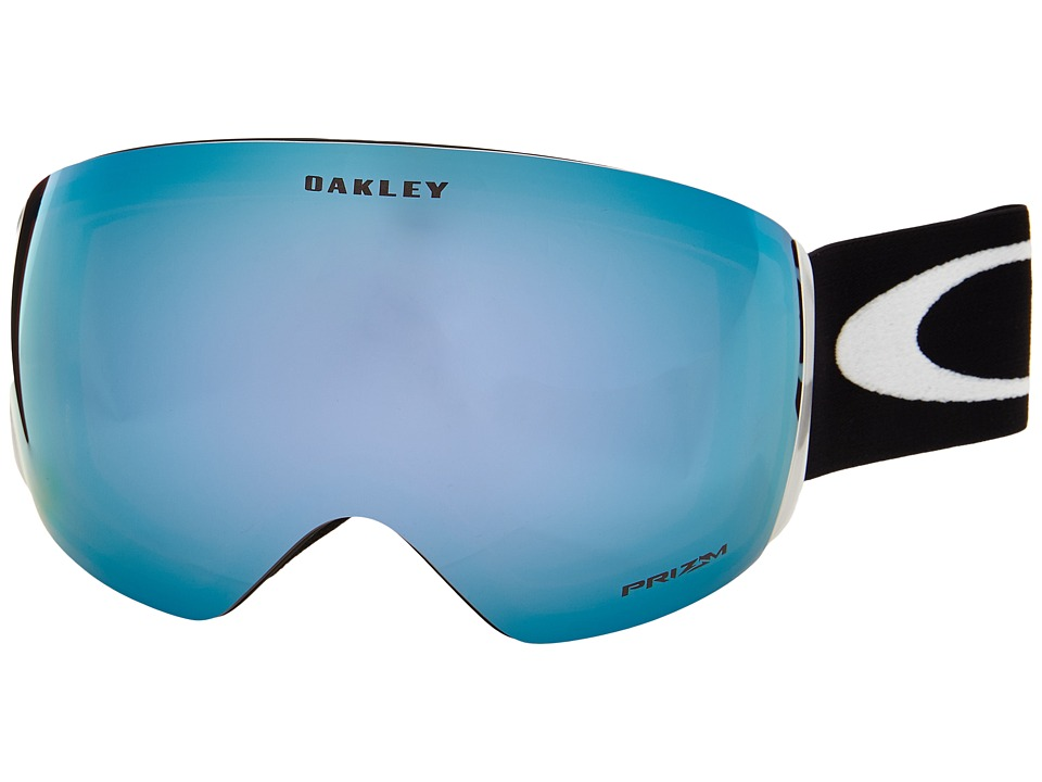 Oakley - Flight Deck (Matte Black/Prizm Sapphire Iridium) Snow Goggles
