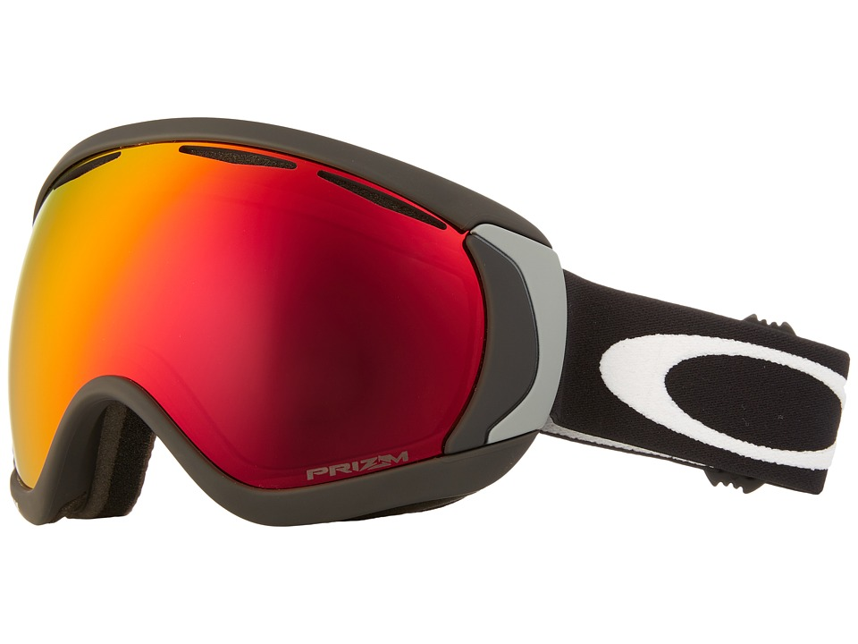 Oakley - Canopy (Matte Black/Prizm Torch Iridium) Snow Goggles