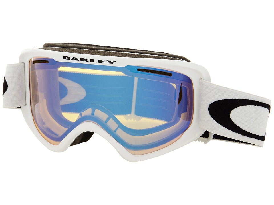 Oakley - O2 XM (Matte White/High Intensity Yellow) Sport Sunglasses