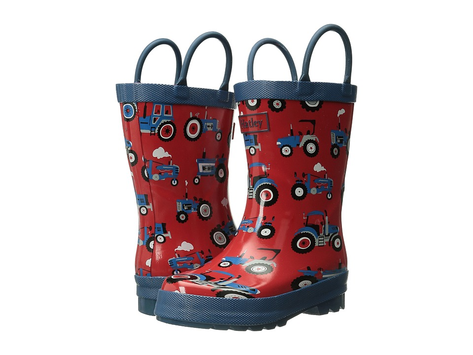 Hatley Kids Rainboots (Toddler/Little Kid) (Farm Tractors) Boys Shoes