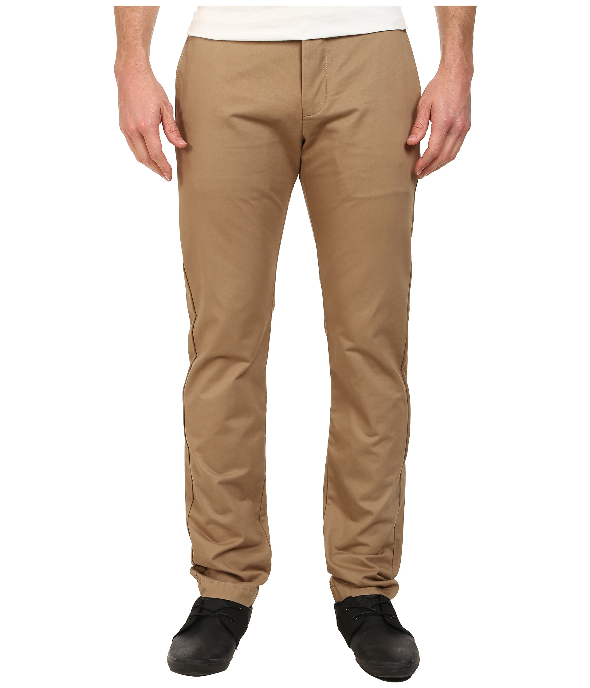 Try Volcom's modern mens pants with a comfortable tapered trim. Shop today!