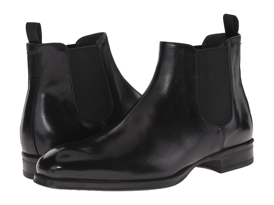 To Boot New York Anderson Black Mens Dress Pull on Boots