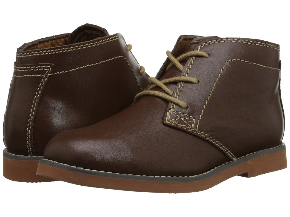 Florsheim Kids Bucktown Chukka Boot Jr. Toddler/Little Kid/Big Kid Brown/Brick Sole Boys Shoes