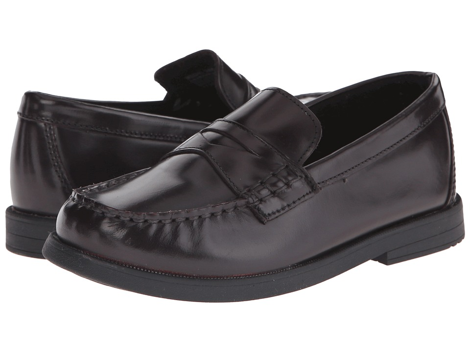 Florsheim Kids Croquet Penny Loafer Jr. (Toddler/Little Kid/Big Kid) (Burgundy) Boys Shoes