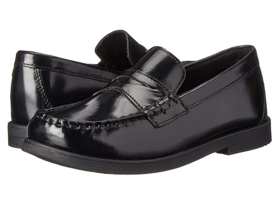Florsheim Kids Croquet Penny Loafer Jr. Toddler/Little Kid/Big Kid Black Boys Shoes