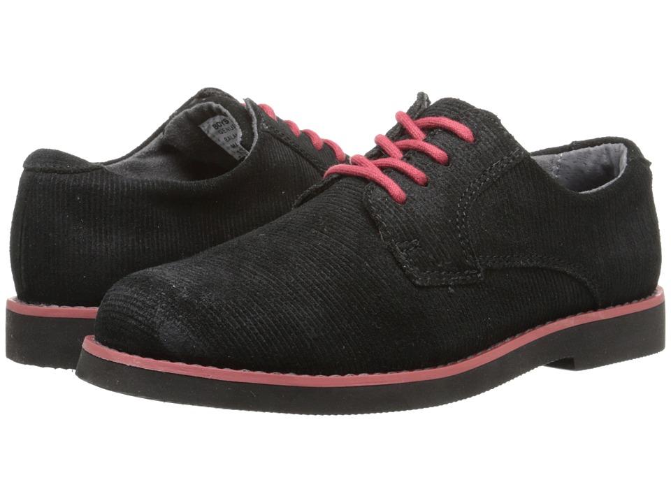 Florsheim Kids - Kearny Jr. (Toddler/Little Kid/Big Kid) (Black And Red/Black Sole) Boys Shoes