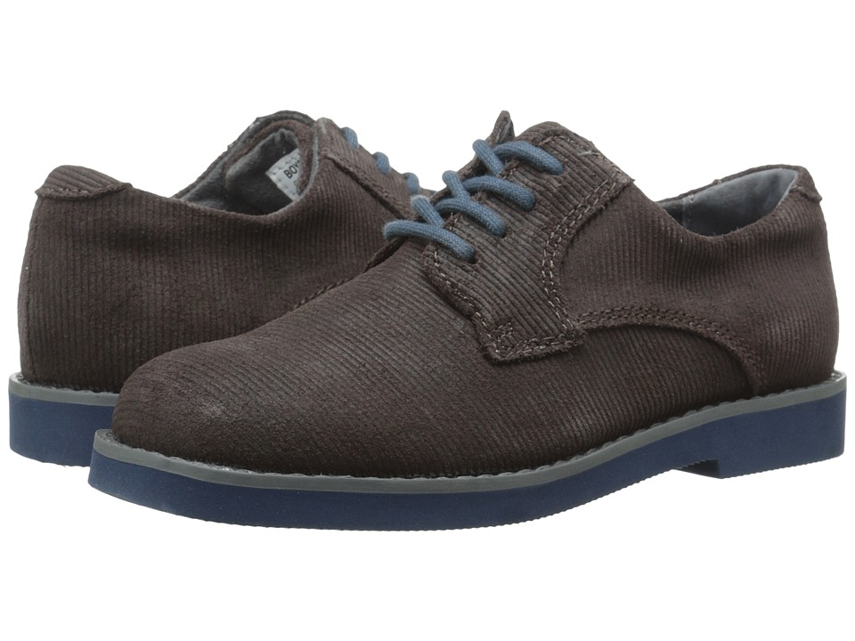 Florsheim Kids - Kearny Jr. (Toddler/Little Kid/Big Kid) (Chocolate/Navy Sole) Boys Shoes