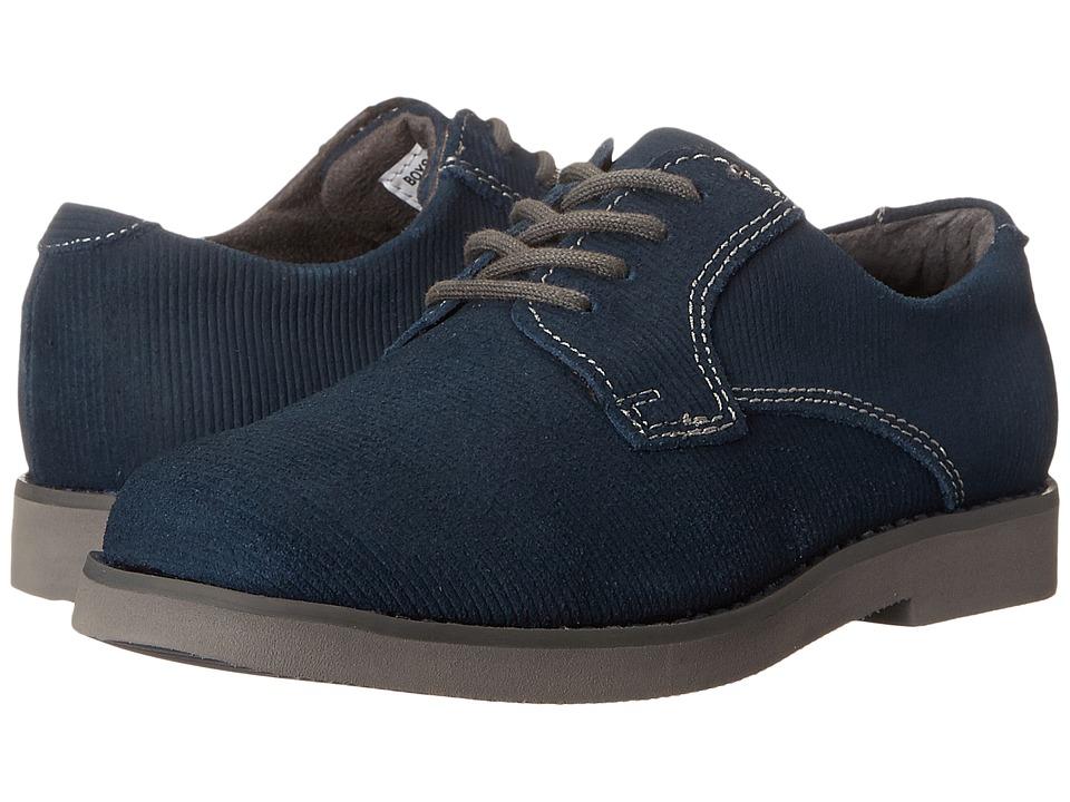Florsheim Kids - Kearny Jr. (Toddler/Little Kid/Big Kid) (Dark Blue/Gray Sole) Boys Shoes