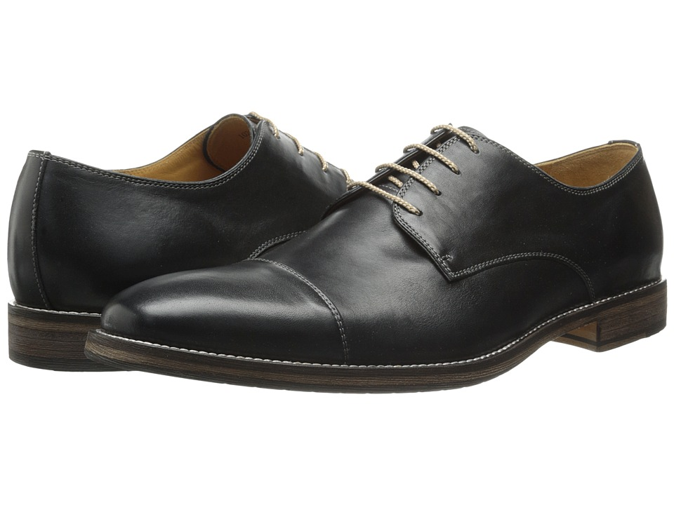 Ron White Adam Black Burnished Calf Mens Shoes