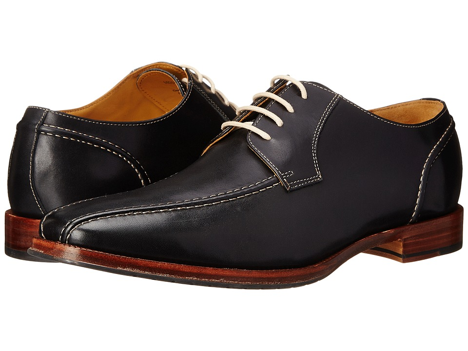 Ron White George Black Burnished Calf Mens Shoes