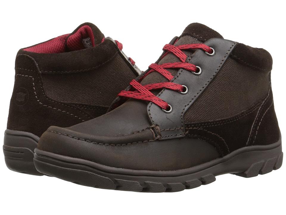 Florsheim Kids Trektion Hiker Boot Jr. Toddler/Little Kid/Big Kid Brown Boys Shoes