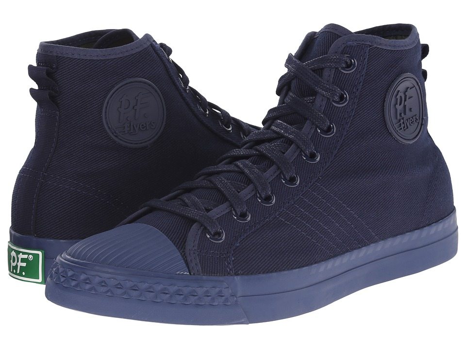 PF Flyers Rambler Aviator Chino Twill Mens Lace up casual Shoes