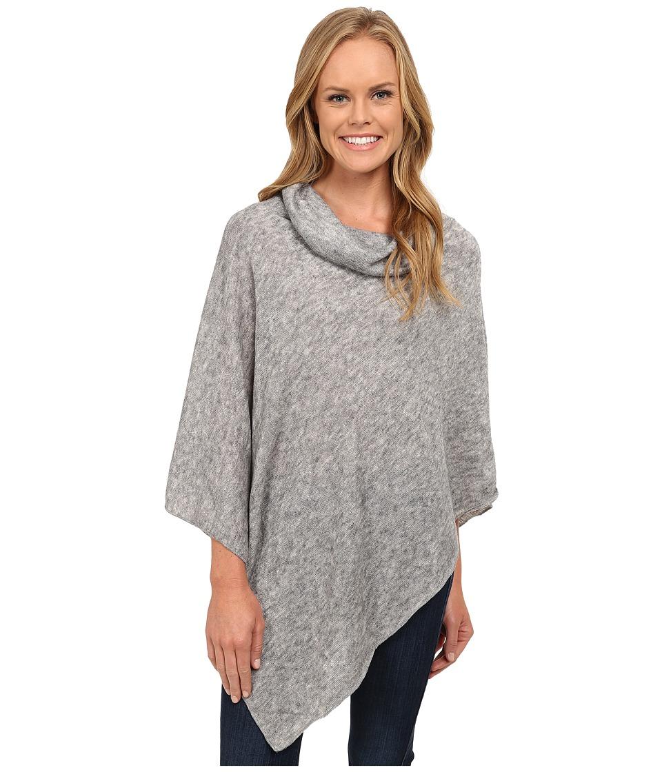 KAVU - Pretty Poncho (Gray) Womens Clothing