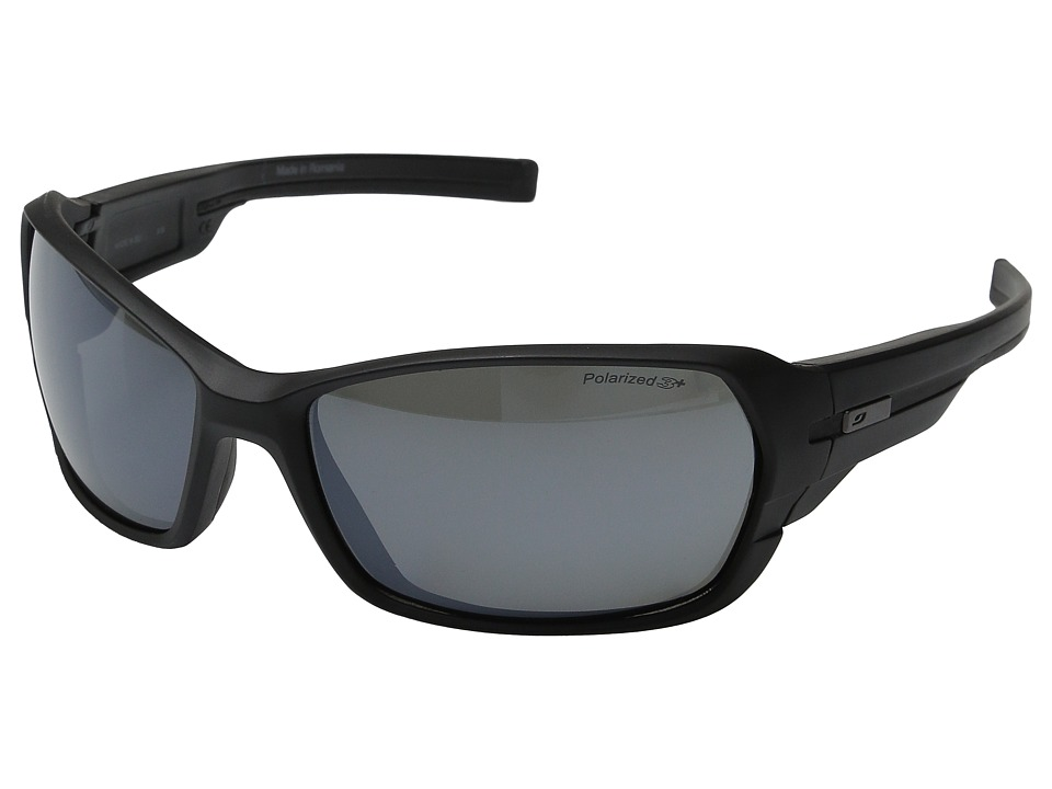 Julbo Eyewear Dirt 2.0 Performance Sunglasses Matte Black/Black Sport Sunglasses