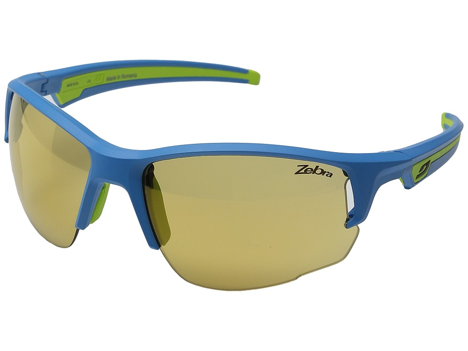 Julbo Eyewear Ventrui Performance Sunglasses Blue/Green Sport Sunglasses