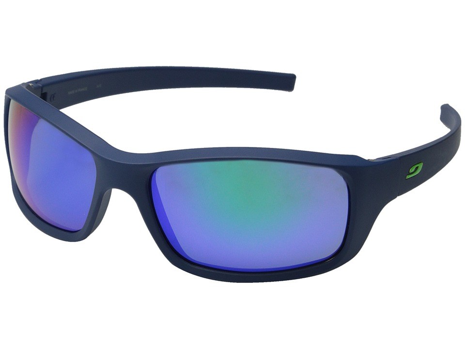 Julbo Eyewear Slick Lifestyle Sunglasses Matte Dark Blue/Green Sport Sunglasses