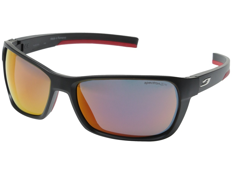 Julbo Eyewear Blast Performance Sunglasses Black/Red Sport Sunglasses