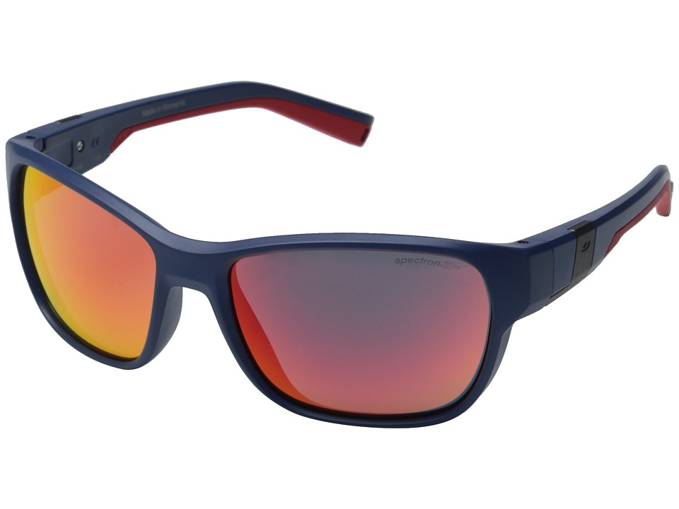 Julbo Eyewear Coast Performance Sunglasses Matte Dark Blue/Red Sport Sunglasses
