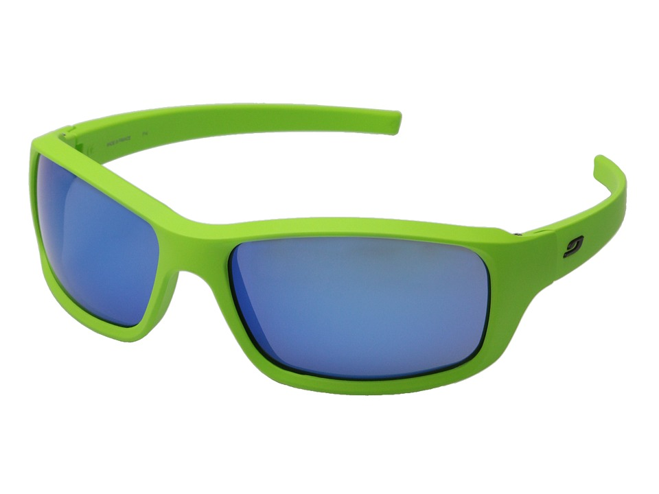Julbo Eyewear Slick Lifestyle Sunglasses Matte Green/Blue Sport Sunglasses