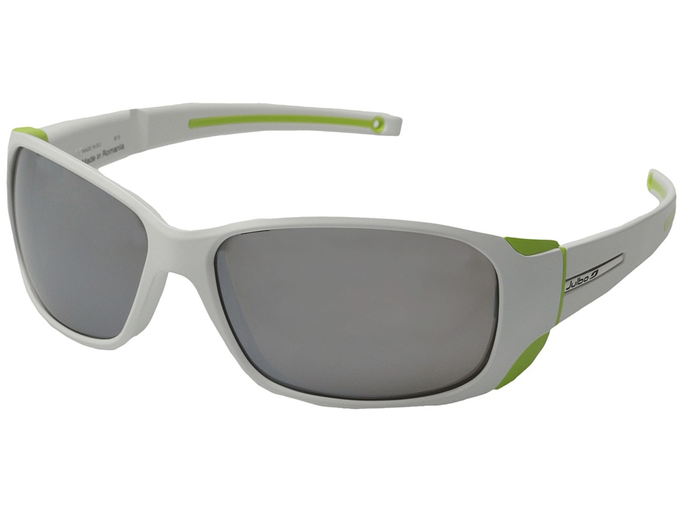 Julbo Eyewear Montebianco Sunglasses White/Lime Sport Sunglasses