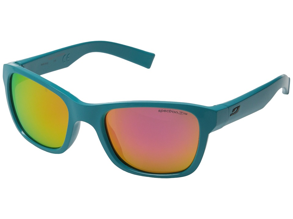 Julbo Eyewear Reach L Sunglasses Big Kids Shiny Turquoise Sport Sunglasses