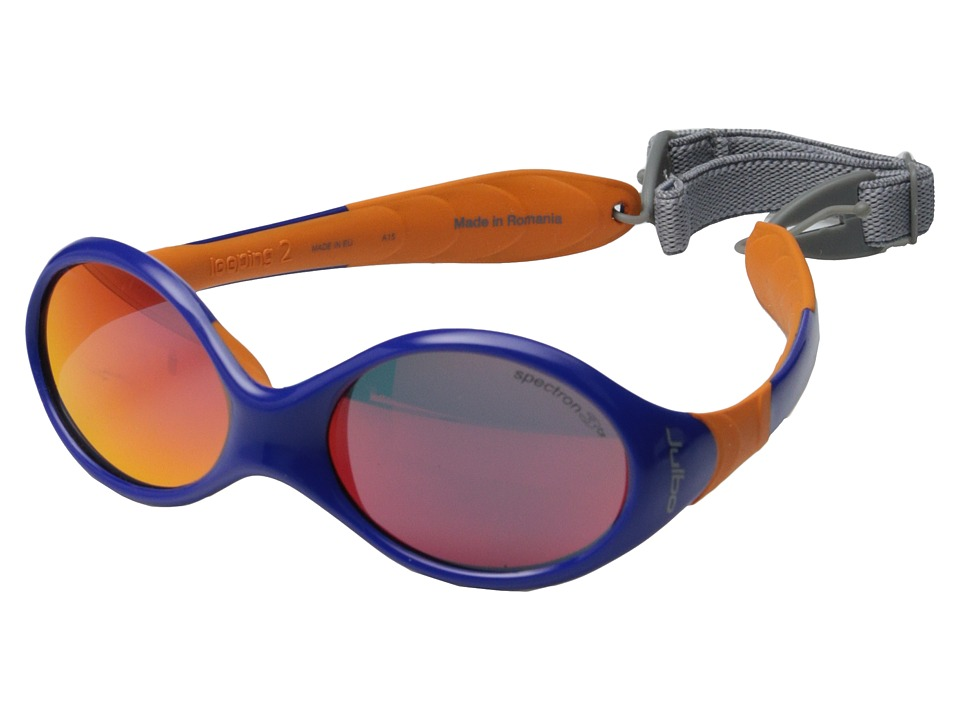 Julbo Eyewear Looping II Infant Blue/Orange Athletic Performance Sport Sunglasses