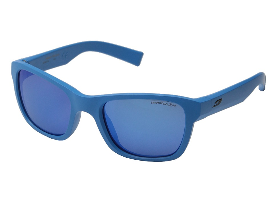 Julbo Eyewear Reach L Sunglasses Big Kids Matte Blue Sport Sunglasses