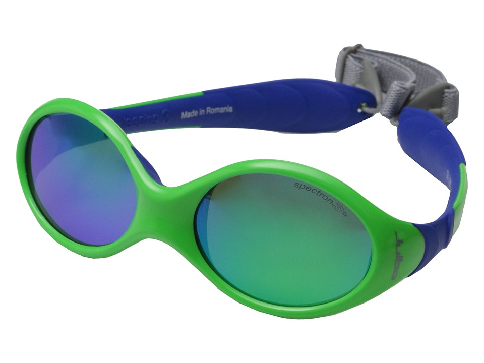 Julbo Eyewear Looping III Sunglasses Toddler Lime/Blue Sport Sunglasses