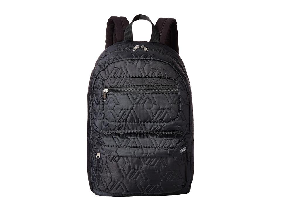 RVCA Not Worthy Backpack Black Backpack Bags