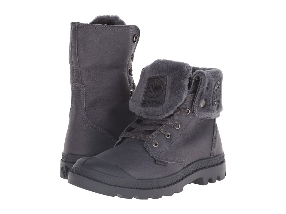 Palladium Baggy Leather Gusset S Anthracite Mens Boots