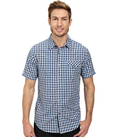 DKNY Jeans - Short Sleeve Gradient Check Shirt/Casual Wash