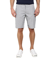DKNY Jeans - Yarn Dye Cotton Check Trouser Shorts