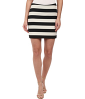 Nicole Miller - Bold Stripe Mini Skirt