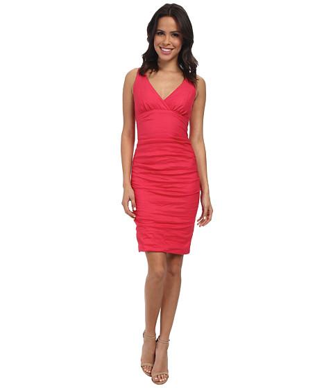 Nicole Miller Krista Cotton Metal Dress
