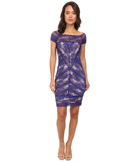 Nicole Miller Cam Stretch Lace Dress - 6pm.com