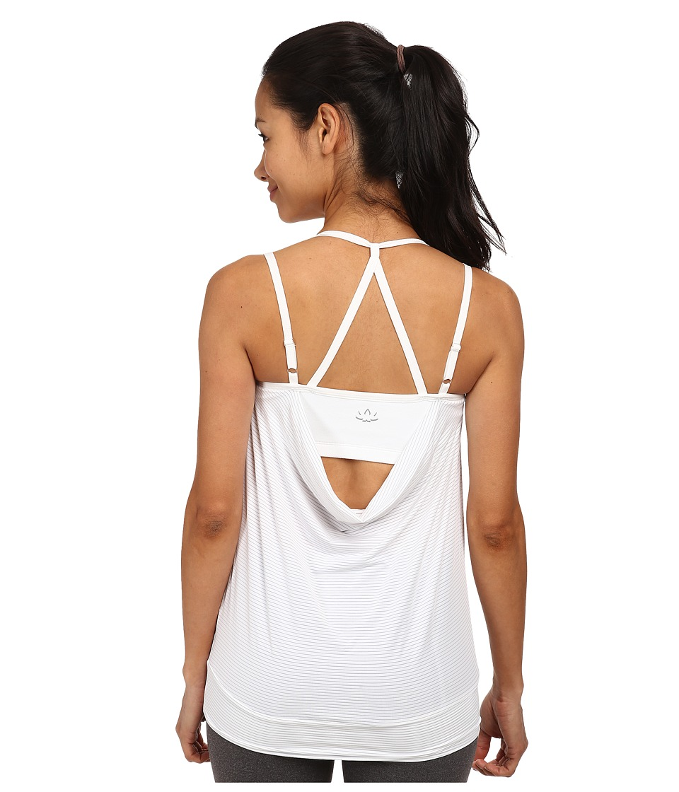 Beyond Yoga - Goddess Tank Top (White) Women's Sleeveless plus size,  plus size fashion plus size appare