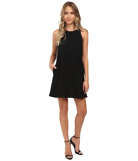 Brigitte Bailey Crepe Tank A-Line w/ Pockets Dress