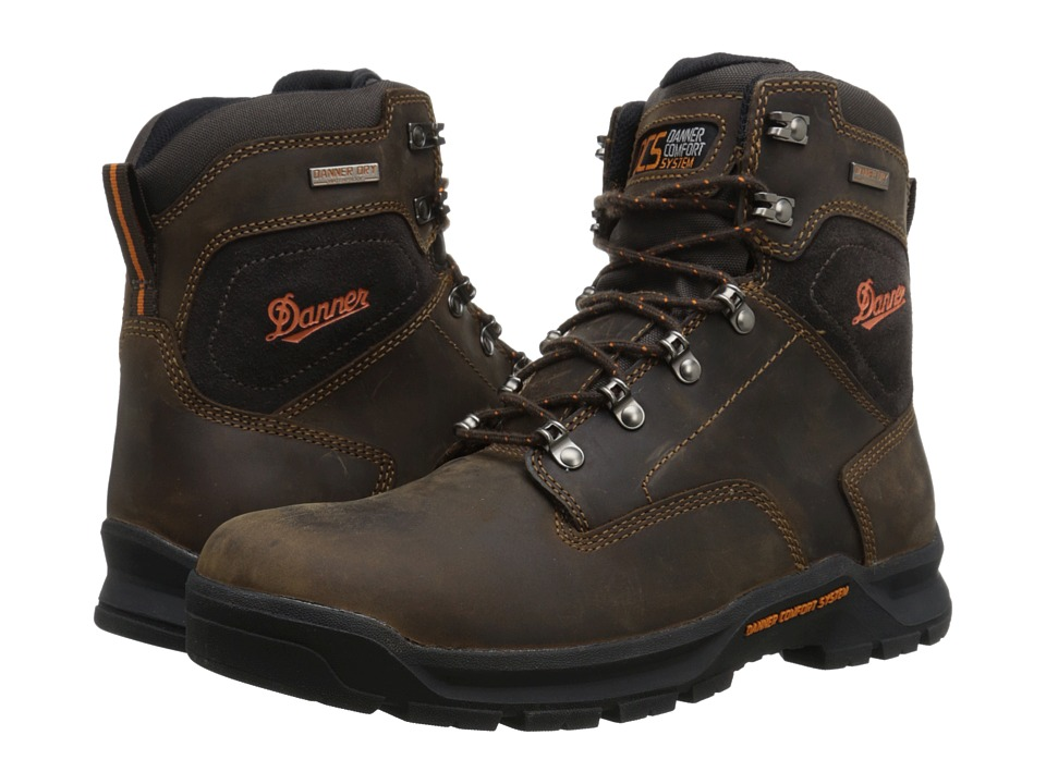 Danner Crafter 6 Brown Mens Work Boots