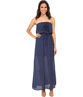 Gabriella Rocha - Gauze Tube Ruffle Front Maxi Dress
