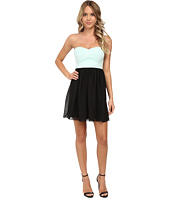Gabriella Rocha - Tube Elastic Banding w/ Chiffon Skirt Dress