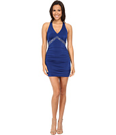 Gabriella Rocha - Halter Dress Bead Waist Ruched Skirt