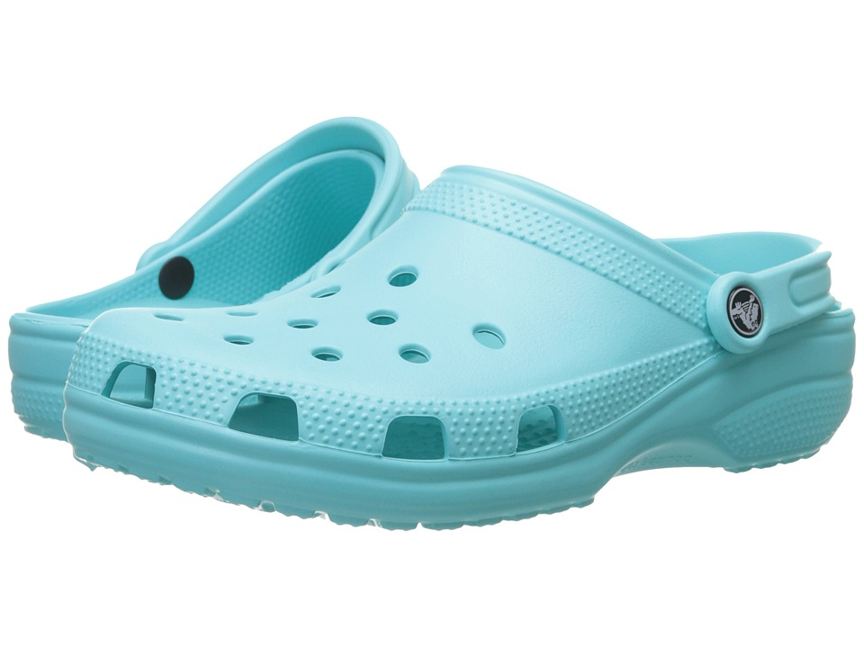 Crocs - Classic (Cayman) - Unisex (Pool) Clog Shoes