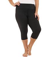 Marika Curves - Plus Size Powerhouse Stripe Capri Leggings