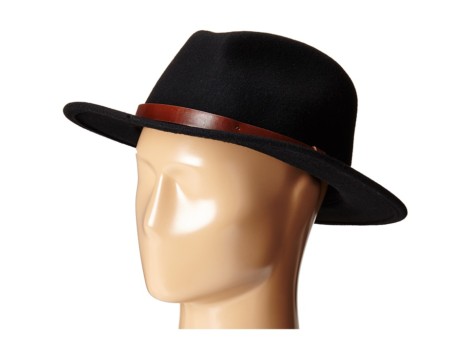 Brixton - Messer Fedora (Black) Fedora Hats