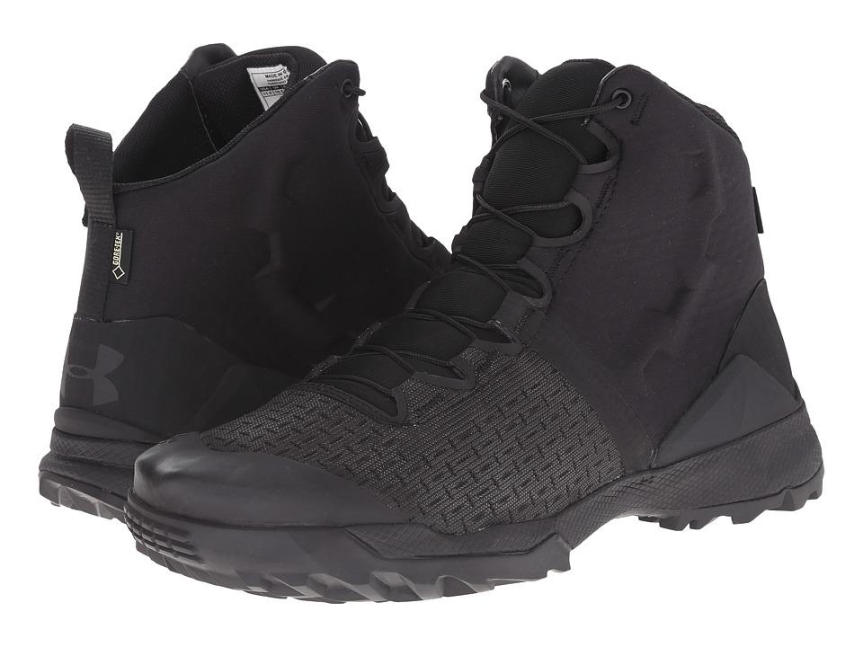 Under Armour - UA Infil GTX (Black/Black/Black) Mens Work Boots