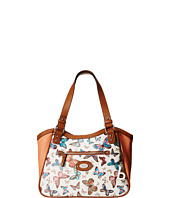 b.o.c. - Jardines Printed Butterfly Tote